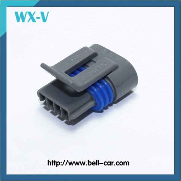 Delphi Equivalent 4 Pin Way Female Waterproof Aviation Electrical Connector PBT-GF15 12162833