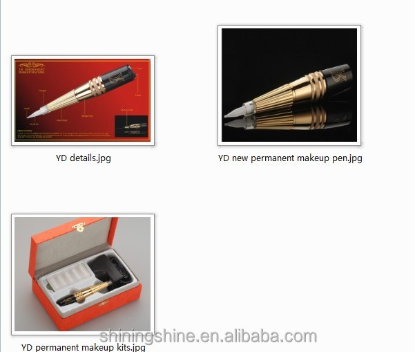 very cheap simple use permanent makeup pen machine set