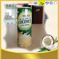 Halal cocoanut drink 240ml in can