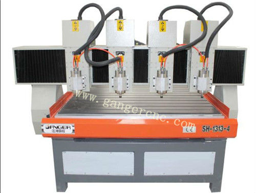 4-spindle CNC woodwork carve machine CNC router wood engraving milling carving cutting machine for furniture carpentry SH-1313-4