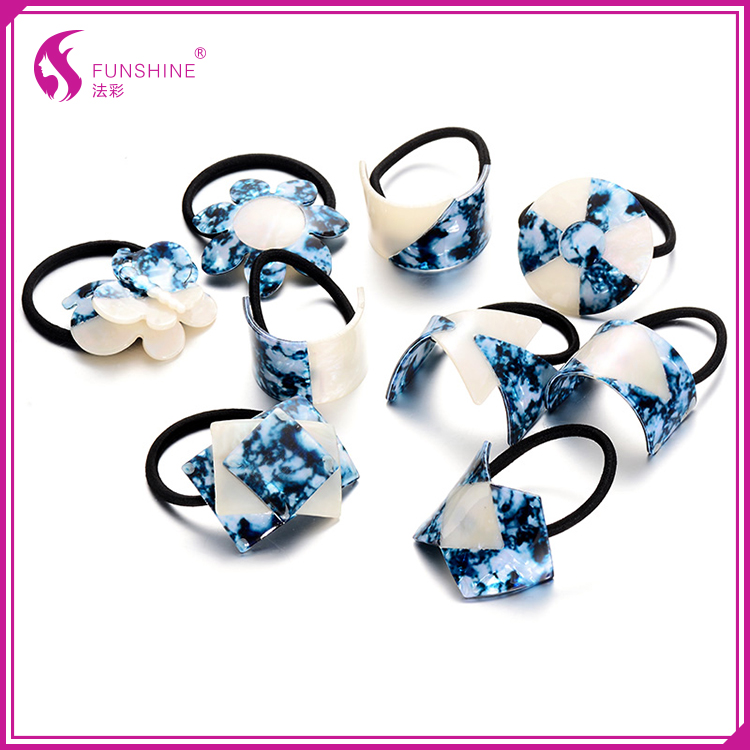 Fancy hair accessories elastic band hair holder for women