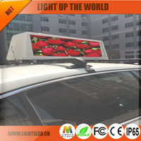 full color low price *** sexy movie P5a outdoor led taxi top display