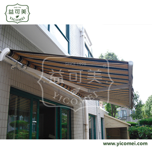 outdoor electric balcony sunshade retractable awnings