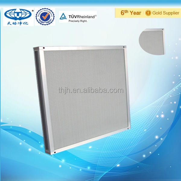 Air filter for cleanroon Mini-pleat HEPA