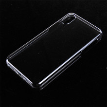 Full Hard Plastic Phone Case for iPhone X Crystal Clear Back Cover