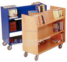 Library Furniture Book Trolley Book Cart