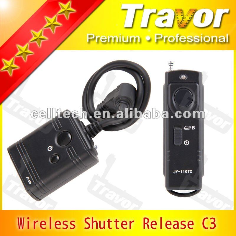 with 16 Multi-chanels For Canon DSLR Cameras wireless shutter release