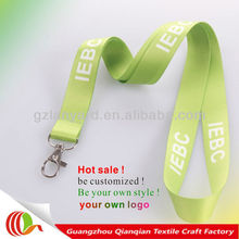 Cheap new friendly light green lanyard string designs