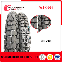 Qingdao Supplier 3.00-18 Off Road Tyre
