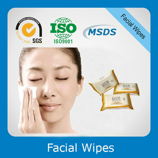 Face Cleaning Wet Tissue