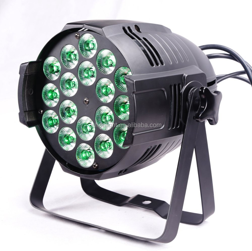 par light 18x18W 6in1 rgbwa UV DJ Stage Show Light Par can led stage light