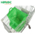 superamrket Reusable Folding polyester Grocery Organizer Shopping Cart Bags with plastic insulated handle