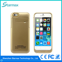 China manufacturer best selling fashion battery case for iphone 6s