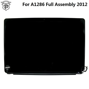 "Genuine Original Laptop Complete Display Assembly for Apple MacBook Pro 15"" A1286 LED LCD Screen Assembly 2012 Year"