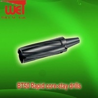 indexable carbide inserts core drill bits for metal processing