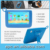 New Children kids study writing play learning tablet education tablet for Kids,7 inch Price wholesale android kids tablet PC