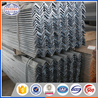 v shaped angle steel / zinc coated angle bar price