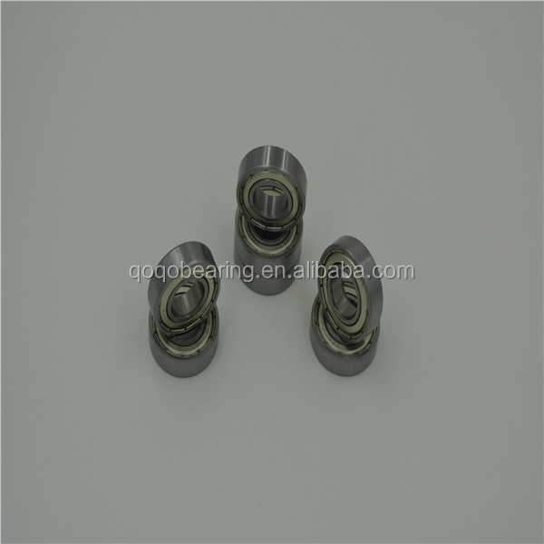 deep groove,steel cage Gcr 15 light series open Greased Miniature Ball Bearings bearing water pump bearing