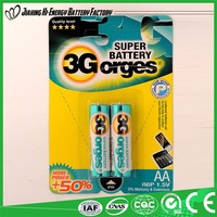 Energy Pro-Environment Low Price Dry Battery R6 Um 3 1.5V Dry Cell Battery
