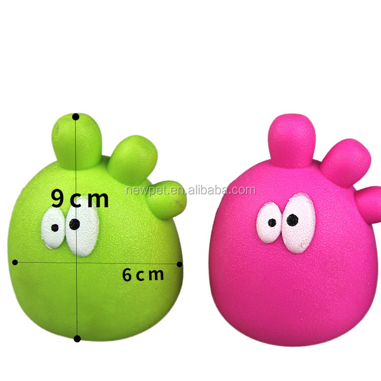 Factory direct nice grade animal shaped educational toy dog toy pets
