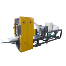 High quality kitchen paper towel folding making machine
