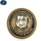Wholesale Custom Die Casting Antiqu Military Commemorate Challenge Coin
