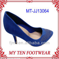 Royal Blue Citi Trends High Heel Shoes For Women