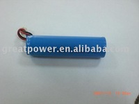 Li-ion Battery Rechargeable Pack 18650 with Wires