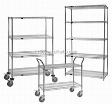 High quality kitchen wall shelves adjustable wire shelving units