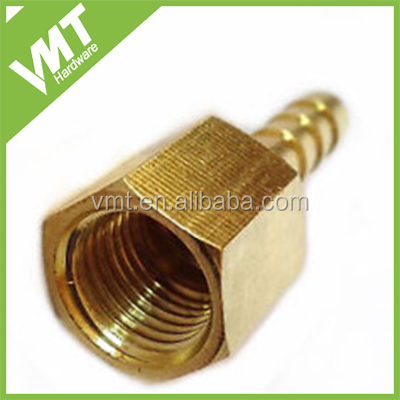 brass hose tail adapter 1/4 BSP female to 6mm tube pressure gauge hose tails