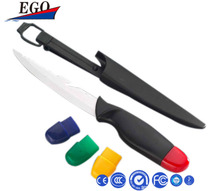 Colorful ceramic chef knife
