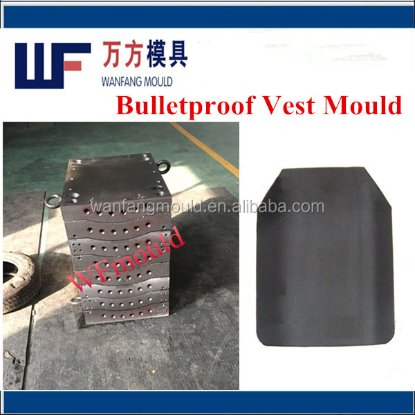 hydraulic press for bulletproof vest mould