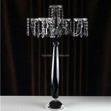SH 075 black stainless steel alabaster candelabra votive holder candle holders