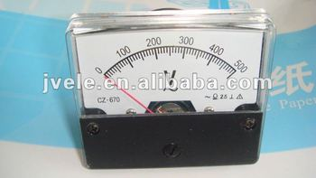 To supply ac voltmeter