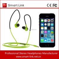 Fashional colorful stereo cheap waterproof earphones for mp3 and mobile phone