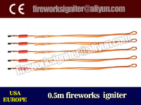 CE passed fireworks igniter to USA, EUROPE, wholesale 0.5m fireworks igniter/2000pcs/liuyang fireworks electric match
