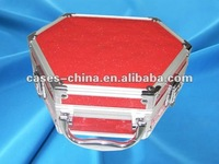 aluminum Hexagon cosmetic folding gift box