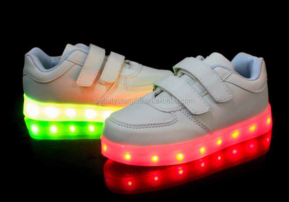 High quality sneaker light up kid shoes,led light up kid shoes China manufacturer