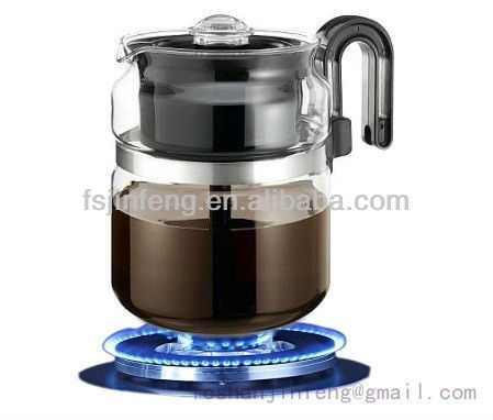 Heat Resistant Glass Percolator Coffee Pot Tea Pot