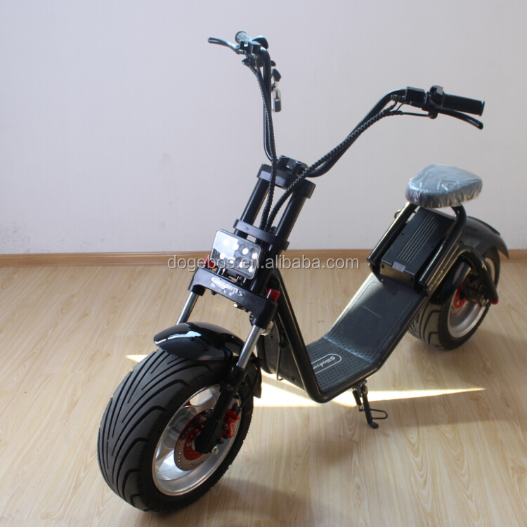 2016 fashion city scooter citycoco electricel el scooter 2000w