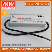 120W 12V 10A Power Supply Meanwell HLG-120H-12A PFC Function IP65 Design