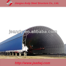 large span prefabricated steel space frame structure