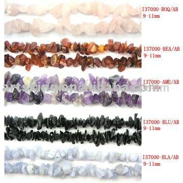 9-11mm Semi-Precious Stone Chips Bead Strand