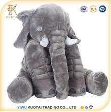 Elephant shape pillow baby elephant body plush pillow 60cm