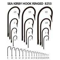 2015 hot sale wholesale SEA KIRBY RINGED fishing hook