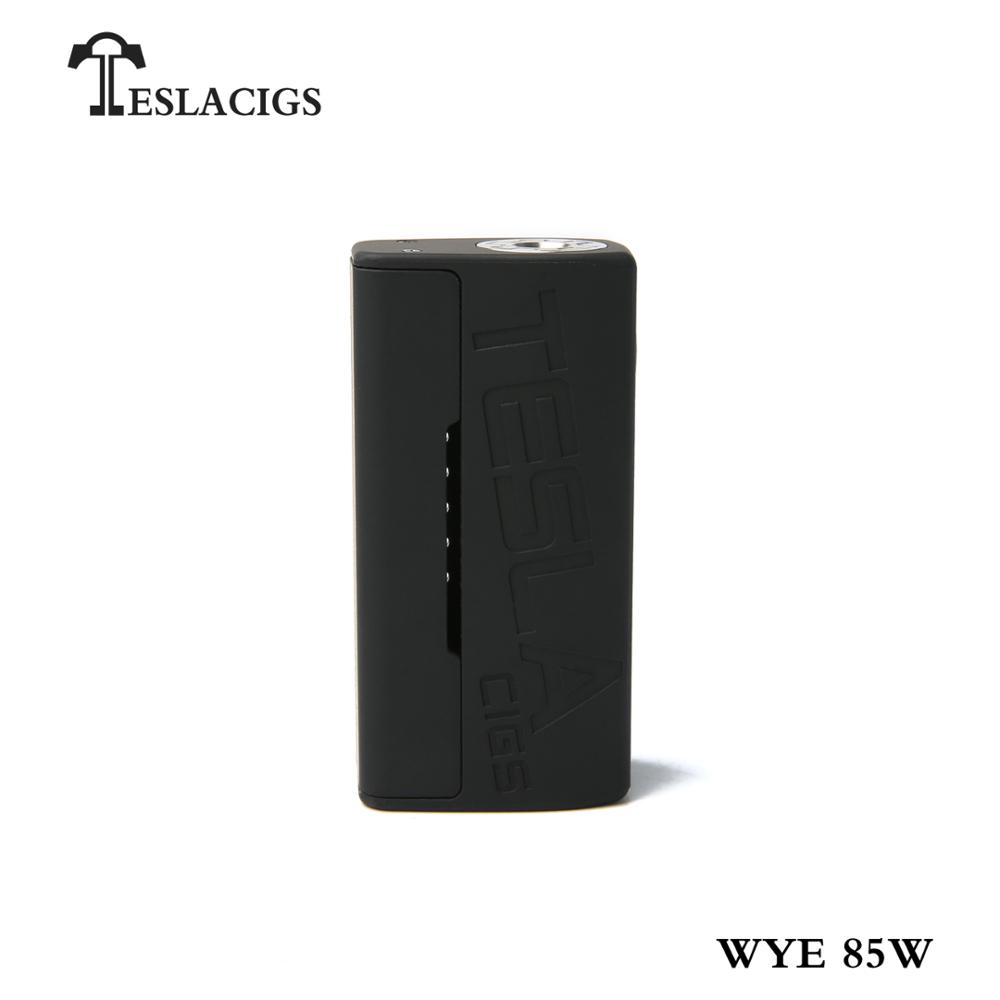 Cheap and light-weight Tesla WYE 85W mechanical mod vape from Teslacigs manufacturer