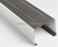 hot sale! galvanised steel coil made metal stud and track vertical channel horizontal channel for drywall partition