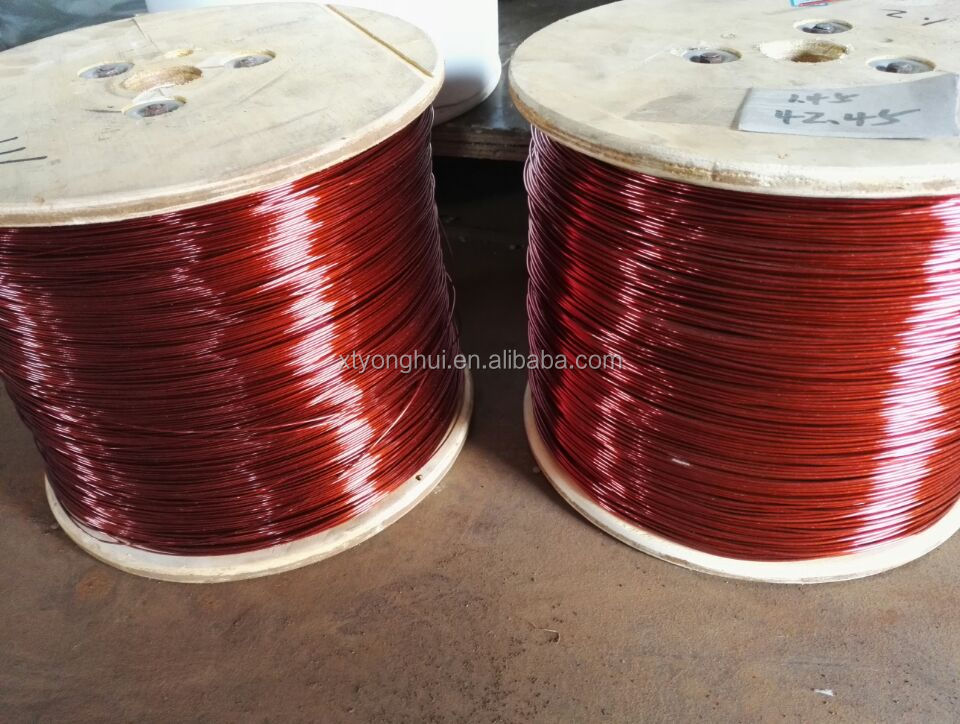 Submersible winding wire for wet motor and Oil immersed transformer,NYLON coating