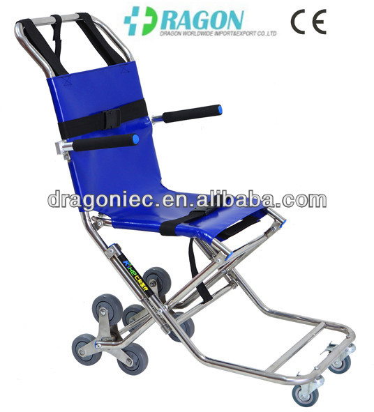 DW-ST007 chairs that go up stairs evacuation chair ambulance stretcher patient transfer stretcher trolley with cheap price