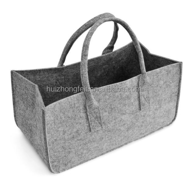 Firewood Carry Bag Environmental Shopping Bag Polyester Felt Bag with Handle